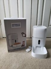 LeeKooLuu WiFi Smart Feeder 6L for dogs and cats. 1080 HD Camera. Android/iPhone