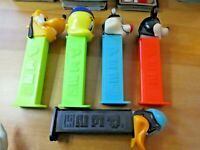 LOT OF 5 PCS PEZ DISPENSER CANDY WALT DISNEY RARE FIGURE/FIGURINE SET #002