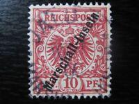 MARSHALL-INSELN GERMAN COLONY Mi. #3II scarce used stamp! CV $85.00
