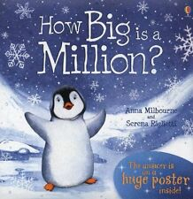 How Big Is A Million? (Picture Books) by Anna Milbourne