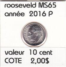 B2 rooseveld 10 cent 2016 P