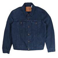 LEVI'S Mens Blue Cotton Casual Denim Jacket 90's - Size Medium M