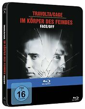 BLU-RAY  FACE/OFF - IM KÖRPER DES FEINDES STEELBOOK  (Nicolas Cage) - NEU & OVP