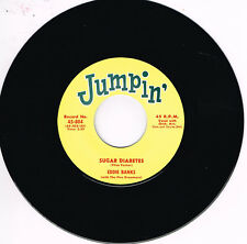 EDDIE BANKS - SUGAR DIABETES b/w ERNIE FIELDS - TEEN FLIP (Jumpin' R&B 2-sider)