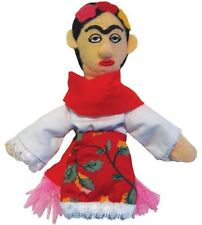 Frida Kahlo - Unemployed Philosophers Guild - Finger Puppet and Fridge Magnet