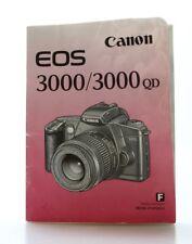 Canon EOS 3000 / 3000 QD  Mode d'emploi  en Français  (Réf#M-131)