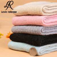 5 Pairs Women's Soft & Comfortable & Warm Thick Wool Cashmere Socks Size 5-9