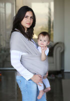 Baby Wrap Cotton Carrier Sling Thick Safe Nursing Cover Adjustable Breathable