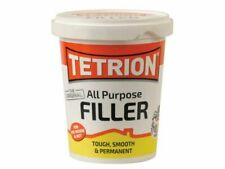 TETRION ALL PURPOSE FILLER Ready Mix Tough Smooth Permanent Inside Out 600g Tub