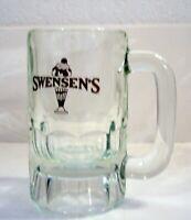 SWENSEN'S Vintage Heavy Glass Root Beer Mug