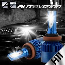 AUTOVIZION LED HID Headlight Conversion kit H11 6000K for 2004-2004 Volvo VN