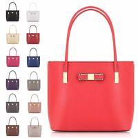 Ladies Cute Faux Leather Bow Shoulder Bag Handbag Shopper Bag Tote Bag GF16127
