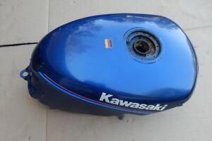 Kawasaki GPZ 500 S EX500 Tank blau metallic innen stark verrostet