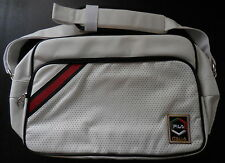FILA Classic Messenger Shoulder Bag Color White/Black With Chinese Red/Green NEW