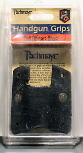 Pachmayr 1911 COLT OFFICERS Grips SIGNATURE COMBAT STYLE BRAND NEW