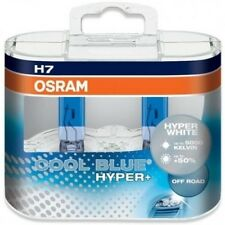 COPPIA LAMPADINE OSRAM H7 12V 55W COOL BLUE HYPER+ WHITE 5000K COD.62210CBH+50%