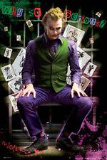 Batman The Dark Knight Joker Jail POSTER 60x90cm NEW Heath Ledger Why So Serious