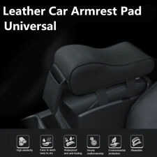 Deluxe Black Car Seat Armrest Cushion Center Console Pillow Pad Kit Memory Foam