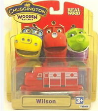 BOX LEARNING CHUGGINGTON WOODEN MAGNETIC TRAIN- WILSON HEAD