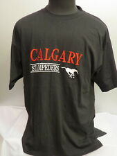 Calgary Stampeders Shirt (VTG) - By Soft Wear - Stitched Graphics - Men's Large