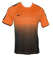 Nike Mens Nike GPX Flash IV Soccer Dri-Fit Shirt Medium Orange Black FIFA futbol