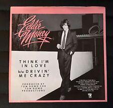 """Eddie Money - Think I'm In Love /  Drivin' Me Crazy 7"""" Insert Japan 07SP 633"""