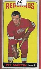 64-65 TOPPS#1*PIT MARTIN**1st in the SET BV$125 EX+Tall Boys RC Detroit R-Wings