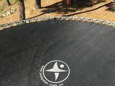 13ft Jumpstar round trampoline, good condition, new mat, double springs