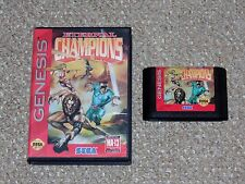Eternal Champions Sega Genesis Game & Case