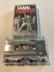 "1990 Damn Yankees ""Damn Yankees"" Audio Cassette Tape Waner Bros"