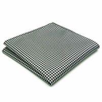 Herren Einstecktuch In Weiß mit keinem Muster   100/% Baumwoll-Satin  32-32cm