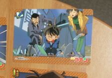 DETECTIVE CONAN PP CARDDASS CARD CARTE 35 MADE IN JAPAN 1996 NM