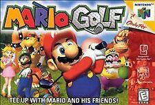 ***MARIO GOLF N64 NINTENDO 64 GAME COSMETIC WEAR~~~