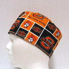 Oklahoma State Mens Scrub Hat, Surgical Cap, Skull Cap, Chemo Hat
