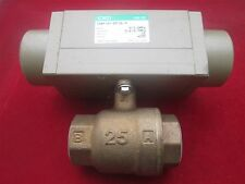 CKD CHBF-X2-25-0L-S Air Operated Ball Valve