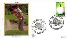 Repubblica Italiana 1988 FDC Filagrano Gold Il Golf