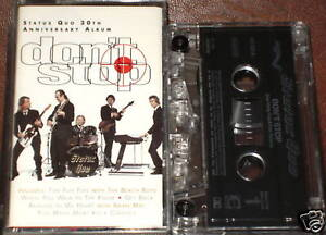 STATUS QUO DON'T STOP CASSETTE BEACH BOYS BRIAN MAY