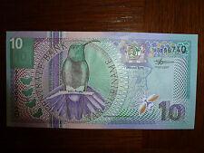 billet de 10 gulden de suriname  état neuf