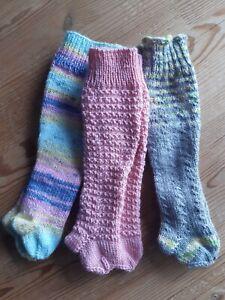 Puppenkleidung/Strumpfhose gestrickt für Puppe Gr. 43-45 cm