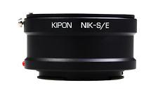 New Kipon Adapter for Nikon F Mount Lens to Sony E Mount NEX Camera NEX-5 VG10