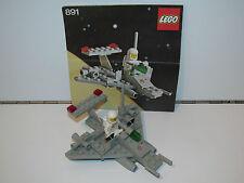 891 # LEGO Brique Charnière 1x2 Blanc 2 Pièce