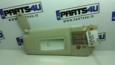2006 FIAT GRANDE PUNTO SUN VISOR LEFT SIDE RHD LIGHT BROWN COLOUR