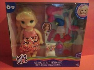 Baby Alive Blonde Includes Doll with Accessories NEW Sealed