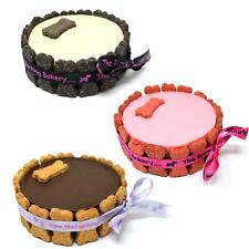 Special Dog Puppy Edible Treat Birthday Celebration Snack Cakes Bone Decorated