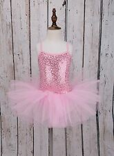Girls Leotard Ballet Tutu Dress Kids Ballerina Fairy Costume Dancewear SZ 2-12Y