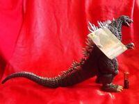 "NEW BIG GODZILLA 2003 BANDAI Sofubi PVC Action Figure HEIGHT9"" 25cm UK DISPTCH"
