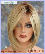 """Hailey"" Noriko Wig Color Creamy Toffee R Bob Style shoulder Length New"