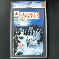 Harbinger #4 (Valiant 1992) 💥 CGC 9.8 WHITE Pages 💥 With Coupon! Comic
