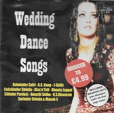 WEDDING DANCE SONGS - NEW BHANGRA CD - FREE UK POST