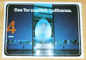 Lufthansa (Germany) Boeing 747 Airline Sticker